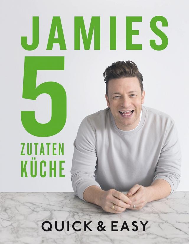 Jamies 5 Zutaten-Küche Quick and Easy - Buchvorstellung Buchreview